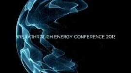 """Breakthrough Energy Conference"" Coming This October 2013"