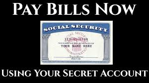 Pay Bills Now Using Your Secret Account