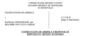 response motion to dismiss