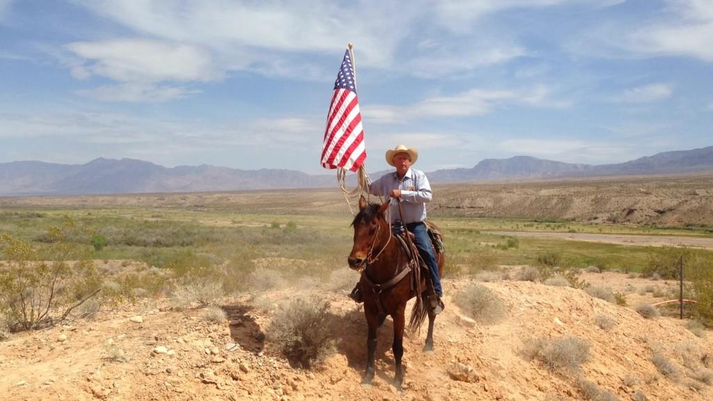 Bundy-Ranch_Cliven-Horseback