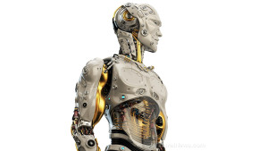 Robot-Cyborg-Man-Future-Human-Headphones-Technology