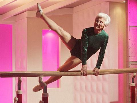 86 Year Old Gymnast I Uv