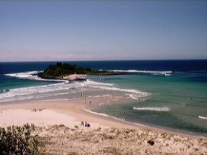 BeachNearLakeConjola