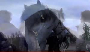 blending horse