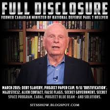 Full Disclosure - Hon. Paul T Hellyer