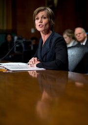 Sally Q. Yates, the deputy attorney general and the author of the memo. Credit Pablo Martinez Monsivais/Associated Press