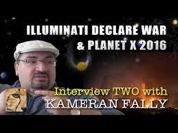 ILLUMINATI DECLARE WAR & PLANET X 2016 - KAMERAN INTERVIEW TWO