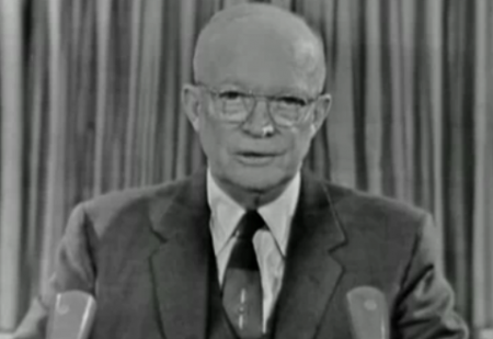 President Eisenhower's stern warnings of the military/industrial complex have been completely ignored by American citizens.