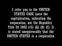 Anonymous - The Act Of 1871 - The UNITED STATES is a CORPORATION