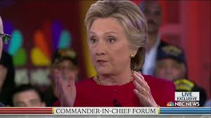 NBC Crew - Crooked Hillary's MASSIVE MELTDOWN at Commander-in-Chief Forum
