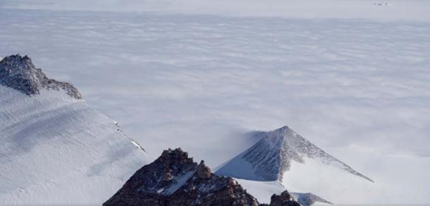 An Antarctic pyramid. (sevzirfo/Google Maps)