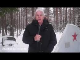 David Icke Talks About The Anti Russian Agenda, Outside NATO Air Base