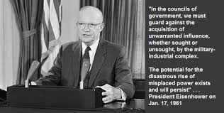 Eisenhower's Warning about the Military Industrial Complex