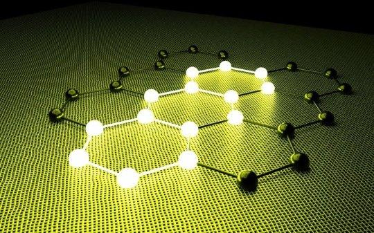 Rendering of graphene. Credit: © sxsxw / Fotolia