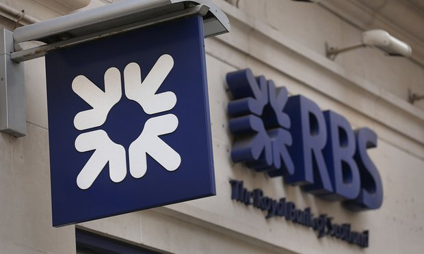 Royal Bank of Scotland has not yet set aside any money for the settlement of the mis-selling of residential mortgage-backed securities in the US. Photograph: Philip Toscano/PA