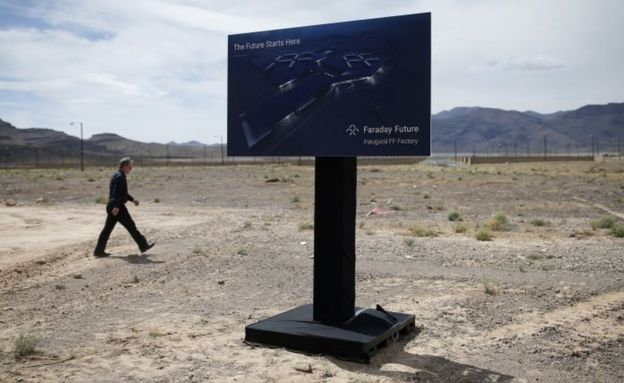 Faraday Future has stopped work on its $1bn factory
