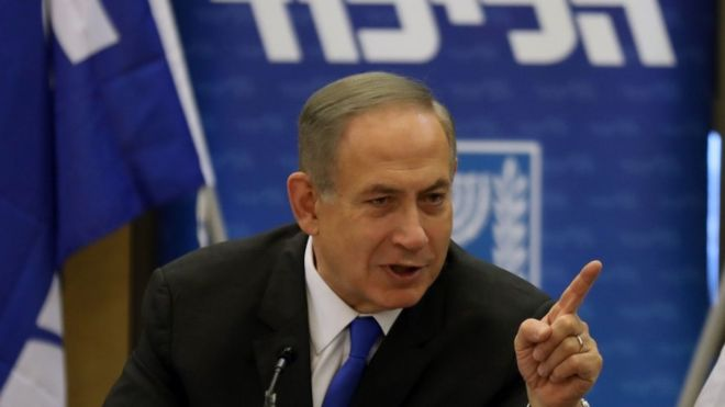 A defiant Mr Netanyahu mocked his accusers ahead of the questioning