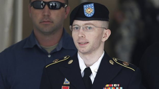 Chelsea Manning, then Bradley, was convicted in 2013