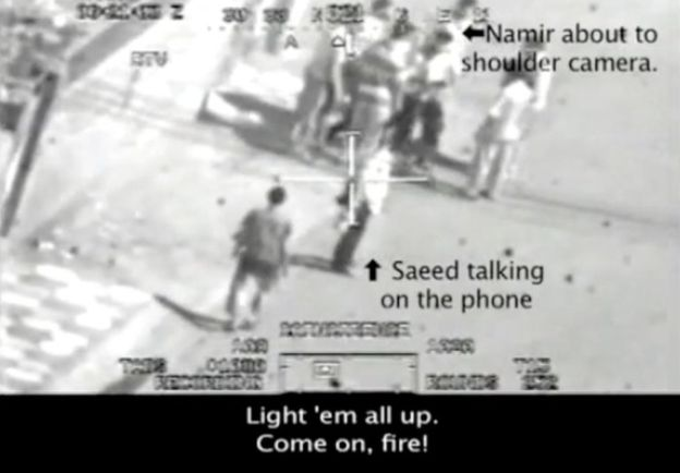 Leaked footage showed a US helicopter pilot killing civilians and journalists