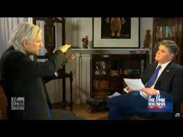 Julian Assange Interview Sean Hannity in London 1.3.17