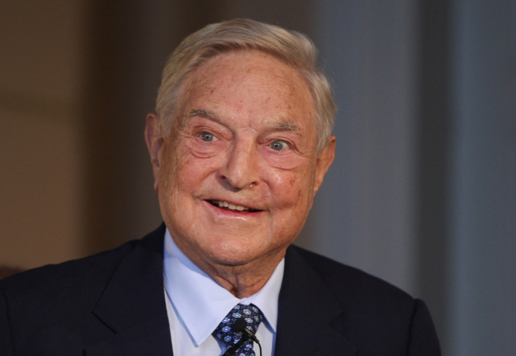 Billionaire investor George Soros. (Photo by Sean Gallup/Getty Images)