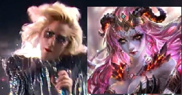Superbowl-Lady-Gaga-succubus-resemblance