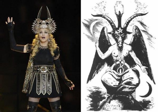 Superbowl-Madonna-Satanic-figure