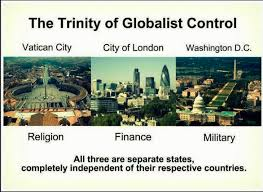The Three Crown Colonies, Cities, States