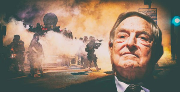 Soros Paid Protesters To Riot And Cause Damage