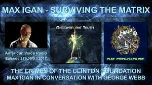 The Crimes of the Clinton Foundation - Max Igan in Conversation with George Webb