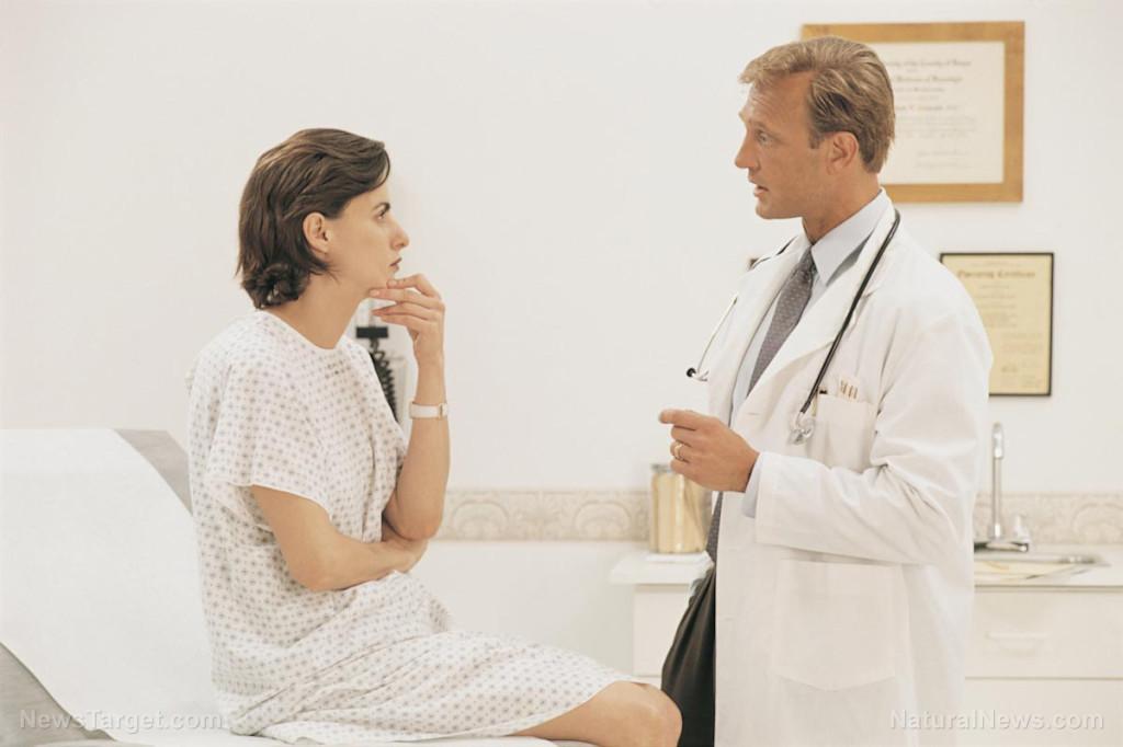 Woman-At-Doctors