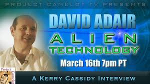 INTERVIEW WITH DAVID ADAIR - ALIEN TECHNOLOGY