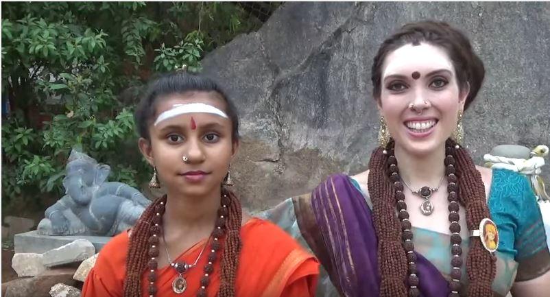 Ma Nithya Yogamaathananda, Girl who Demonstrates Cool Superpower, on Third Eye, Nithyananda & More