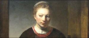Rembrandt-Workshop-Young-Woman-at-an-Open-Half-Door-Chicago-Art-Institute-300x129