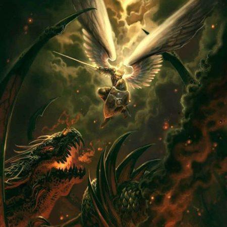 Revelation-12-war-in-heaven-Michael-Dragon-Fallen-angels-return-to-earth-daniel-243-e1503779558643