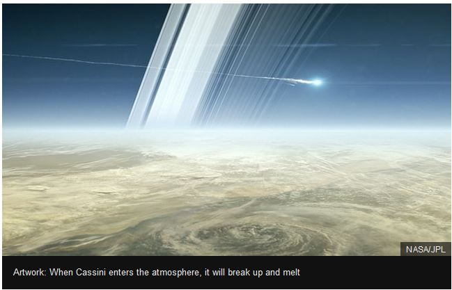 cassini enters atmosphere