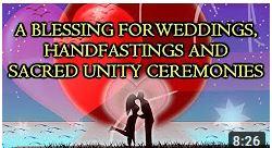 Blessings for weddings