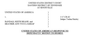 response motion to dismiss
