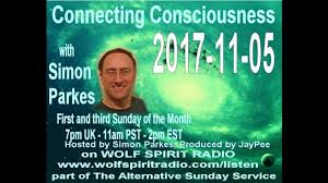 2017-11-05 Connecting Consciousness with Simon Parkes