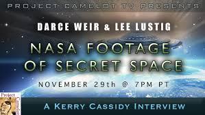 DARCE WEIR & LEE LUSTIG & THEIR SECRET SPACE DOCUMENTARY