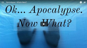 OK... Apocalypse. Whats Next.